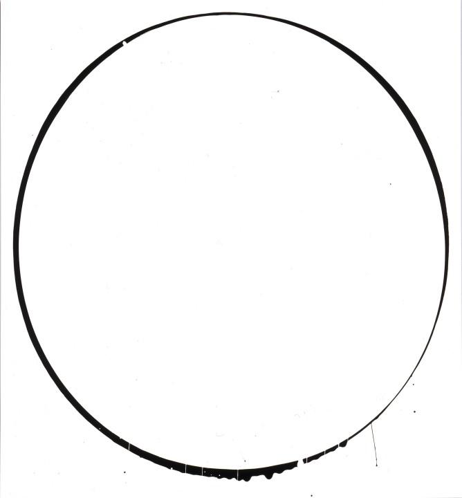 Oval: white, black, white, 2002