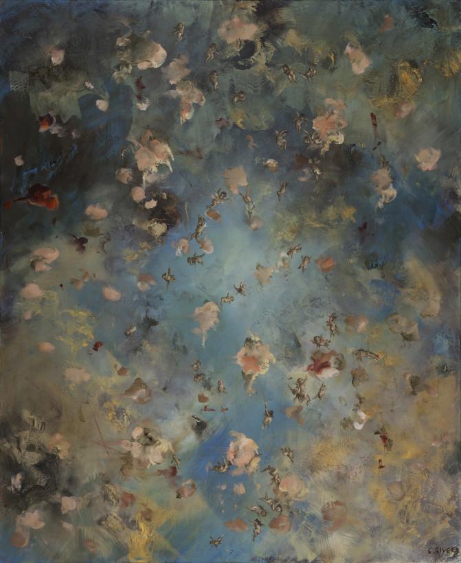 "<span class=""artist""><strong>Chris Rivers</strong></span>, <span class=""title""><em>Strawberry Skies</em>, 2019</span>"