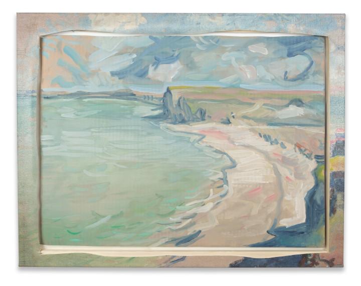 "<span class=""artist""><strong>Nick Smith</strong></span>, <span class=""title""><em>Monet - Beach at Pourville</em>, 2019</span>"