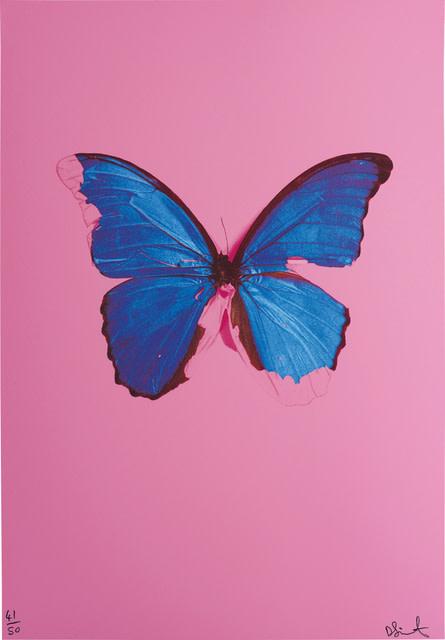 "<span class=""artist""><strong>Damien Hirst</strong></span>, <span class=""title""><em>Blue Butterfly</em>, 2006</span>"