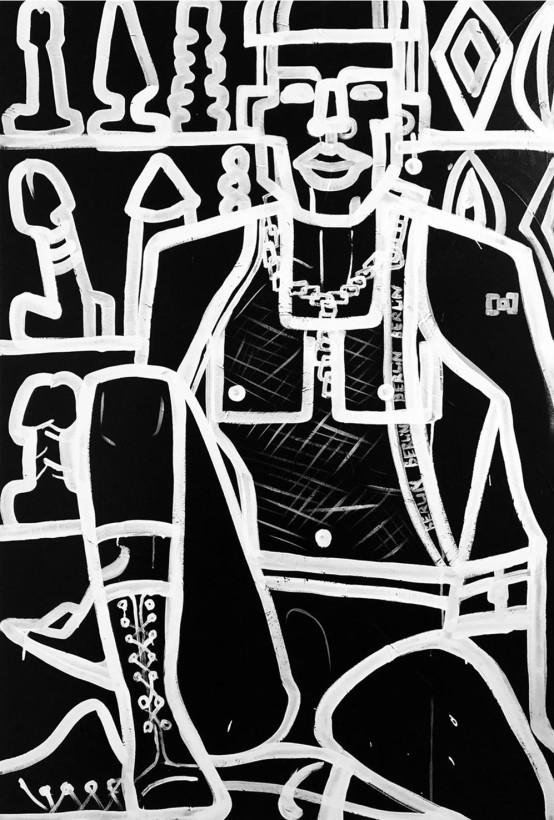 "<span class=""artist""><strong>Vera Kochubey</strong></span>, <span class=""title""><em>Berghain Boy</em></span>"