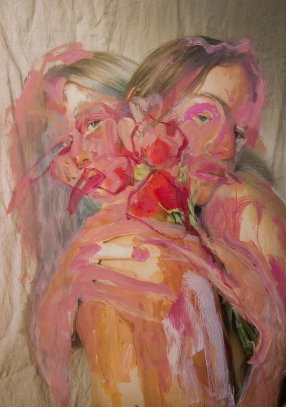 "<span class=""artist""><strong>Jess Cochrane</strong></span>, <span class=""title""><em>Red Carnation</em>, 2021</span>"