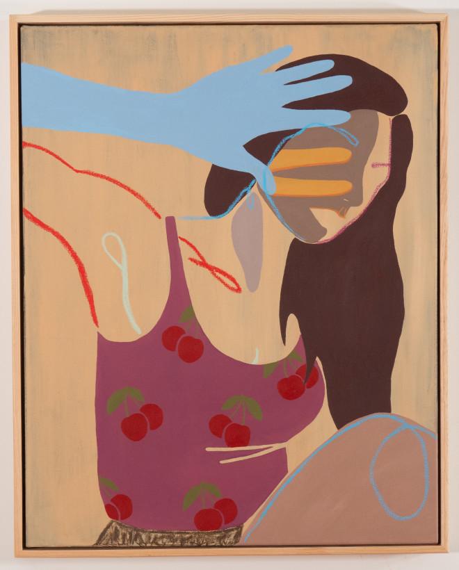 """<span class=""""artist""""><strong>Anoushka Mirchandani</strong></span>, <span class=""""title""""><em>Forbidden Fruit</em>, 2021</span>"""