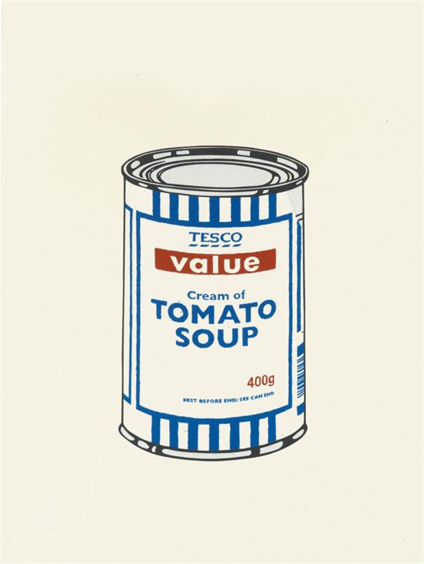 Soup Can Original Colour