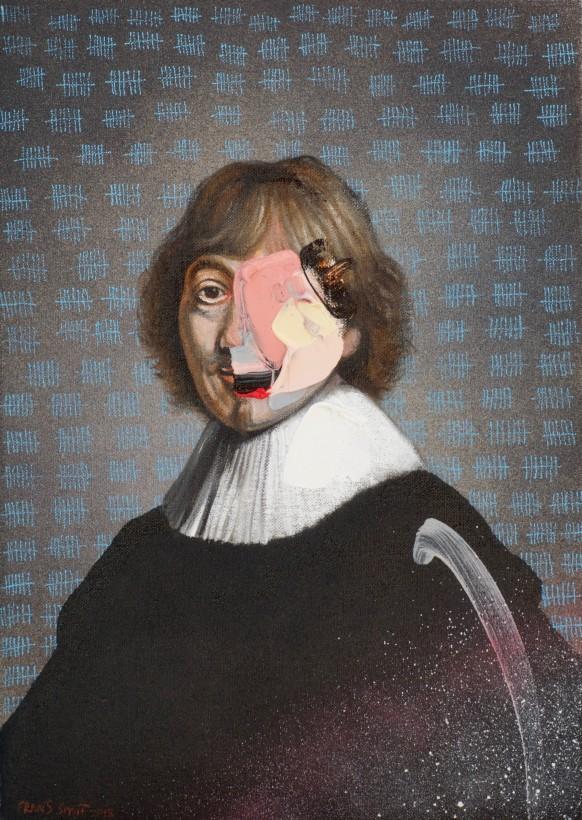 "<span class=""artist""><strong>Frans Smit</strong></span>, <span class=""title""><em>After Rembrandt, Portrait of Jacob de Gheyn III</em>, 2019</span>"