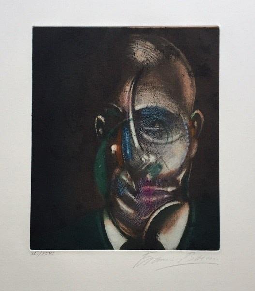 Portrait of Michel Leiris 1976 (1978)
