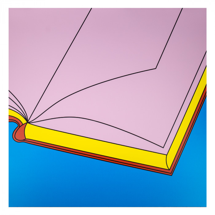 """<span class=""""artist""""><strong>Michael Craig-Martin</strong></span>, <span class=""""title""""><em>Book</em>, 2019</span>"""