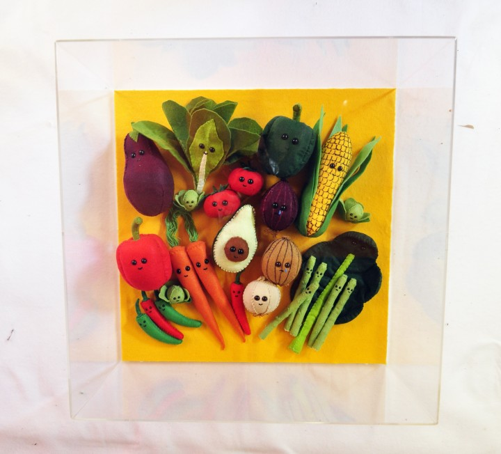 "<span class=""artist""><strong>Lucy Sparrow</strong></span>, <span class=""title""><em>Vegetable Patch</em>, 2018</span>"