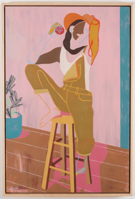 "<span class=""artist""><strong>Anoushka Mirchandani</strong></span>, <span class=""title""><em>Perch</em>, 2021</span>"