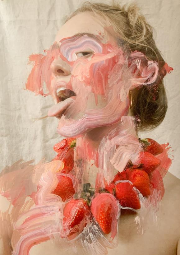 """<span class=""""artist""""><strong>Jess Cochrane</strong></span>, <span class=""""title""""><em>To Take A Bite</em>, 2021</span>"""