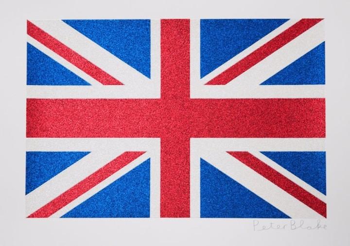 Union Flag- Glitter