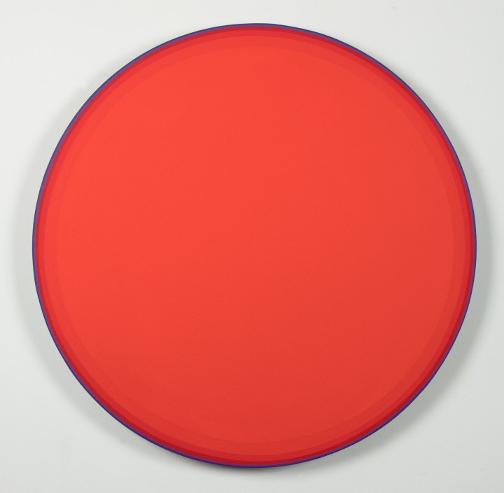 "<span class=""artist""><strong>Jan Kalab</strong></span>, <span class=""title""><em>Red Circle</em>, 2020</span>"