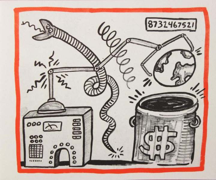 """<span class=""""artist""""><strong>Keith Haring</strong></span>, <span class=""""title""""><em>Against All Odds, 20 Drawings</em>, 1990</span>"""