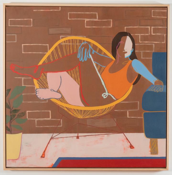 "<span class=""artist""><strong>Anoushka Mirchandani</strong></span>, <span class=""title""><em>Nesting</em>, 2021</span>"