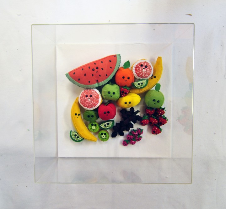 <span class=&#34;artist&#34;><strong>Lucy Sparrow</strong></span>, <span class=&#34;title&#34;><em>Tutti Frutti</em>, 2018</span>
