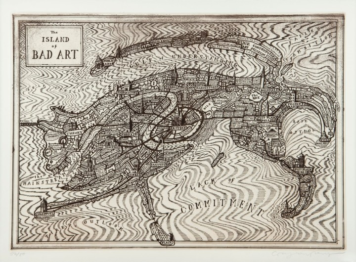 <span class=&#34;artist&#34;><strong>Grayson Perry</strong></span>, <span class=&#34;title&#34;><em>The Island of Bad Art</em></span>