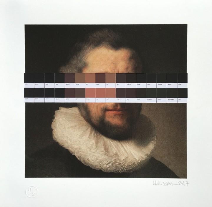 <span class=&#34;artist&#34;><strong>Nick Smith</strong></span>, <span class=&#34;title&#34;><em>Rembrandt&#8217;s Ruff Ryder 4</em>, 2017</span>