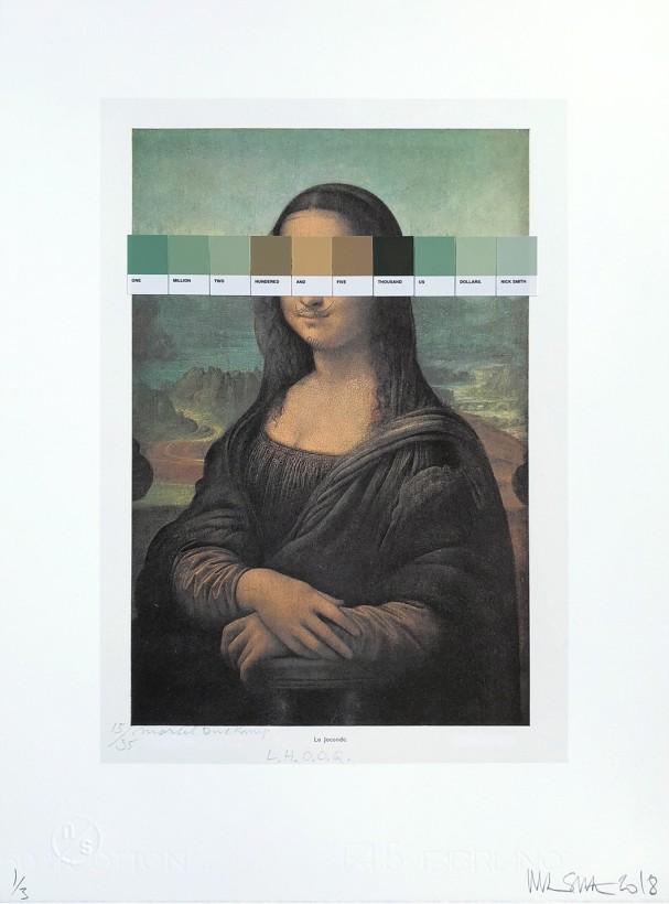 Duchamp - L.H.O.O.Q. #15/35