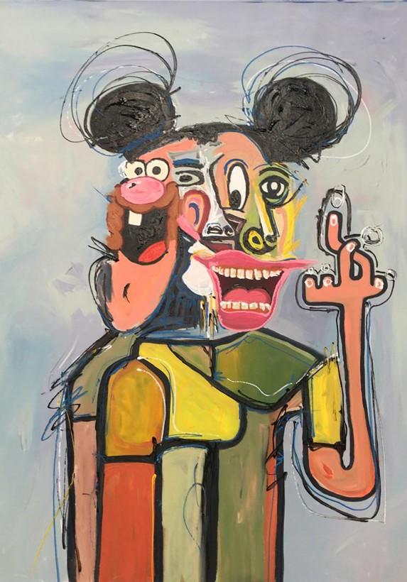 <span class=&#34;artist&#34;><strong>John Paul Fauves</strong></span>, <span class=&#34;title&#34;><em>Hello is Hello</em>, 2019</span>