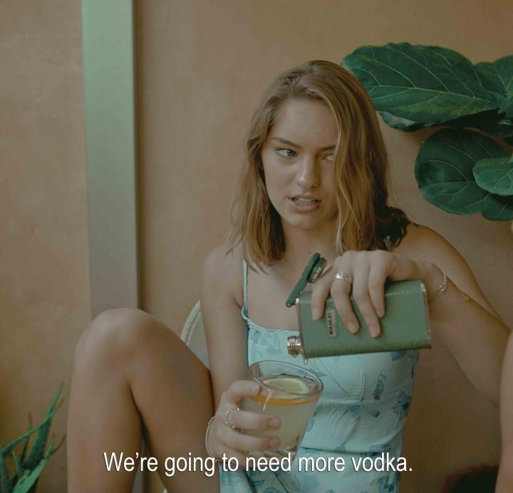 <span class=&#34;artist&#34;><strong>Sarah Bahbah</strong></span>, <span class=&#34;title&#34;><em>Summer Without A Pool &#8211; Vodka </em>, 2017</span>