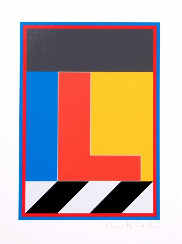 Dazzle Alphabet - L
