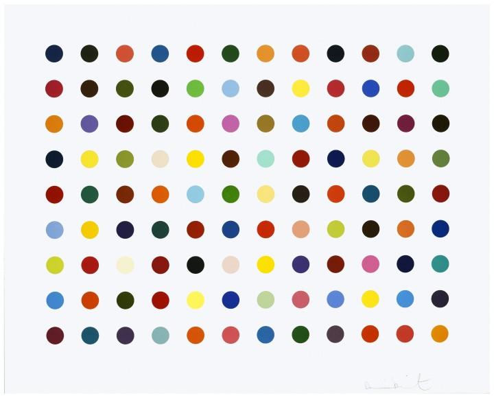 <span class=&#34;artist&#34;><strong>Damien Hirst</strong></span>, <span class=&#34;title&#34;><em>Ellipticine</em>, 2007</span>
