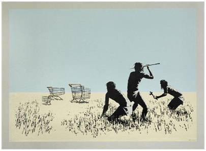 <span class=&#34;artist&#34;><strong>Banksy</strong></span>, <span class=&#34;title&#34;><em>Trolleys Colour</em>, 2007</span>