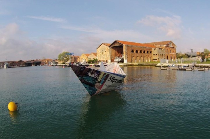 lampedusa at the 56th venice biennale