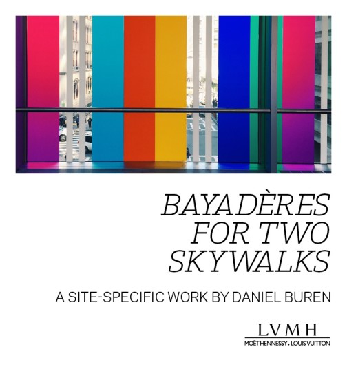 bayadères for two skywalks