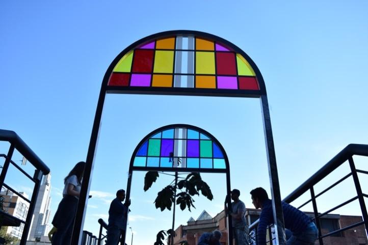 del medio círculo al círculo completo: un recorrido de color