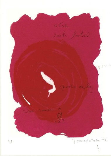 gravura do albúm YU-GEN, Tomie Ohtake