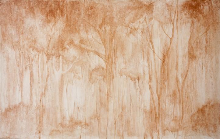 Brígida Baltar. Floresta vermelha, 2009. Cortesia da artista e Galeria Nara Roesler.
