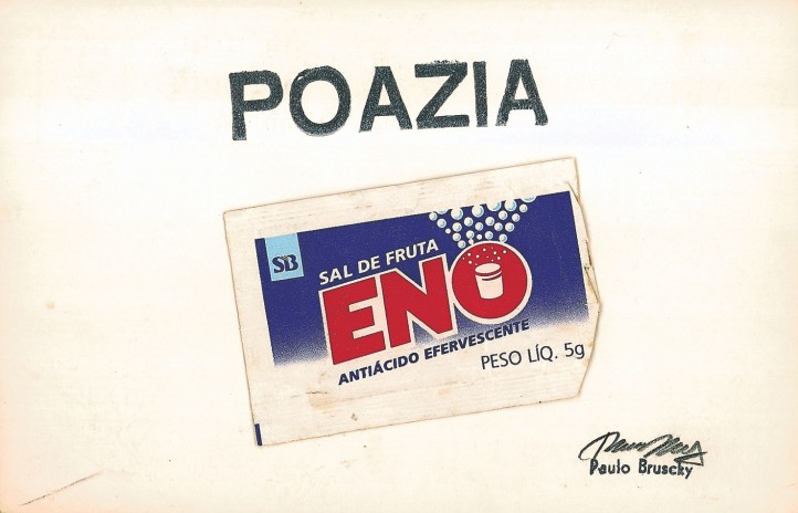 Paulo Bruscky, Poazia, 1977