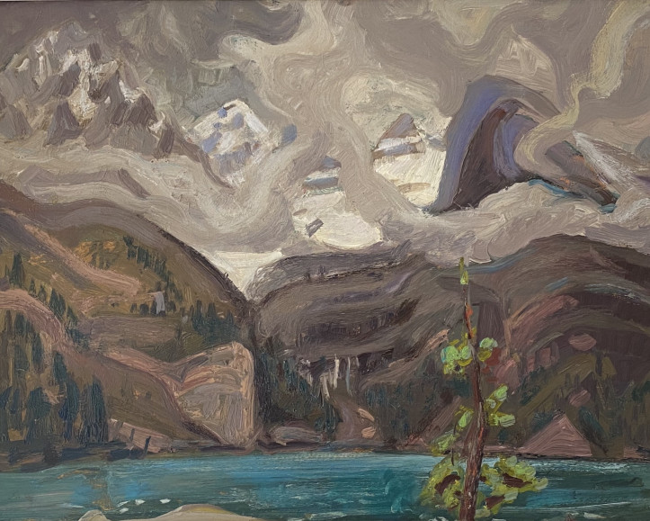 Lake O'Hara, Canadian Rockies, 1928 by Arthur Lismer