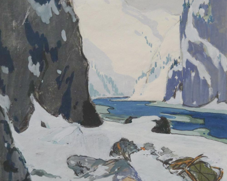 Precious Illustration, an Important Visual Document in the Narrative Of Clarence Gagnon