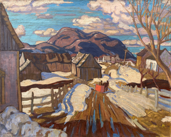 "A.Y. Jackson's ""Early Spring, Quebec"", 1926"