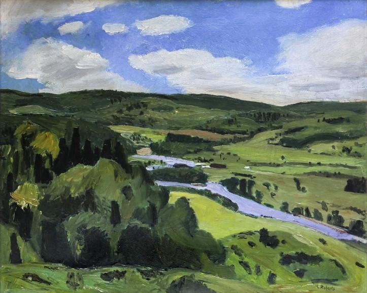 Goodridge Roberts, ''Rivière du Diable'', 1939