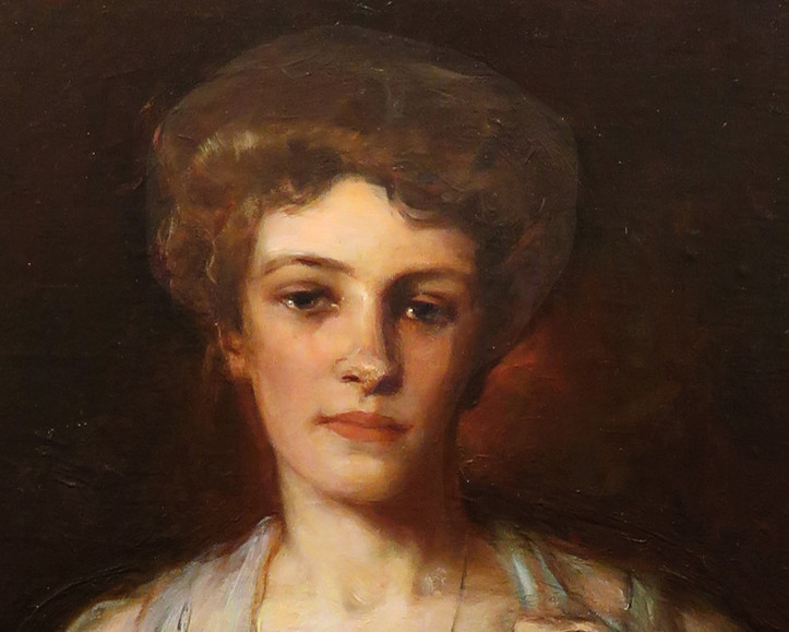 A pioneer female artist's portraits and Montreal family ties