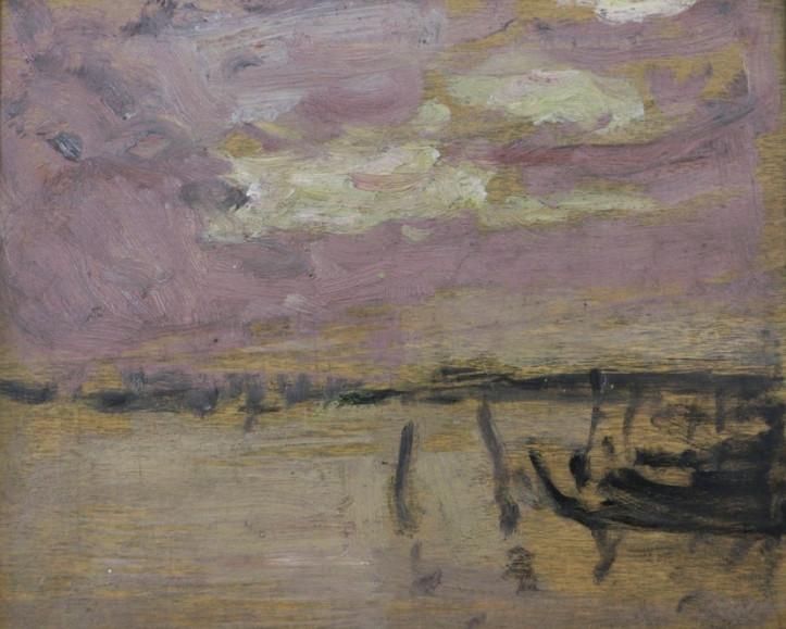 "Impressions of Venice: James Wilson Morrice's sketch ""Gondolas in the Lagoon"""