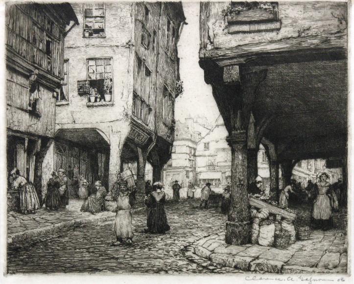Collection de gravures de Clarence Gagnon acquises par Madeleine Boyer
