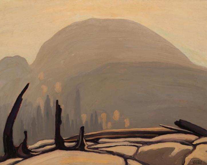 Lawren Harris Morning Sun Over Hill, Lake Superior (Lake Superior Sketch XXVII) 1922
