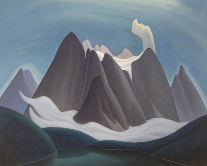 Lawren Harris' Mountain Forms