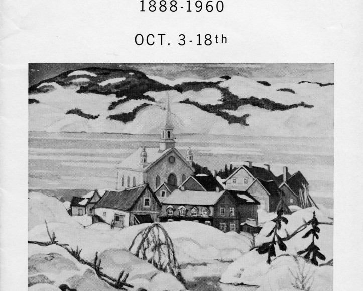 A Prime Example of a Canadian School Masterpiece by Randolph Stanley Hewton