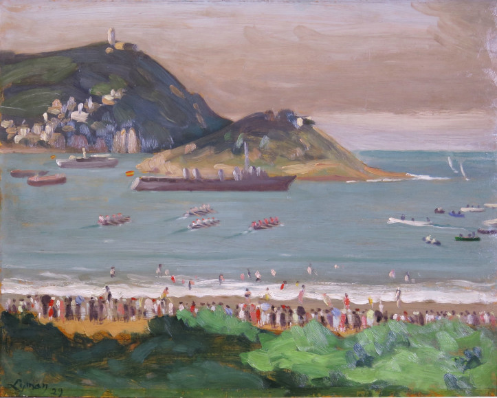 "John Lyman's Beach and Regatta Paintings were Inspired, ""Remarkable"""