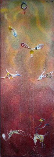 "<span class=""artist""><strong>Balraj Khanna</strong></span>, <span class=""title""><em>Animal & Friends</em>, 1987</span>"
