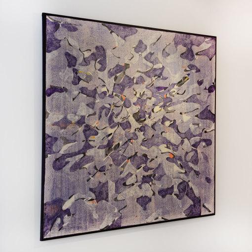 "<span class=""artist""><strong>Balraj Khanna</strong></span>, <span class=""title""><em>Purple Plain</em>, 1970</span>"