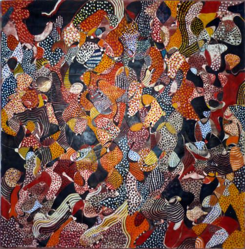 """<span class=""""artist""""><strong>Balraj Khanna</strong></span>, <span class=""""title""""><em>African Queen</em>, 1969-70</span>"""