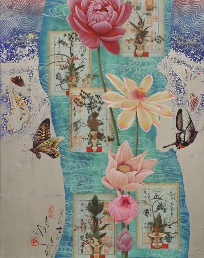 Utopia, Floral Raft in Summer