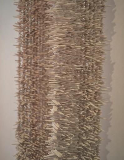Chal de Pepitas de Terracotta (detail)