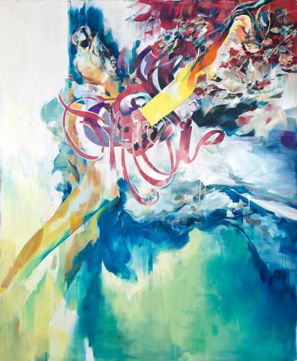 "<span class=""artist""><strong>Hermann Mejia</strong></span>, <span class=""title""><em>Drowned</em>, 2012</span>"